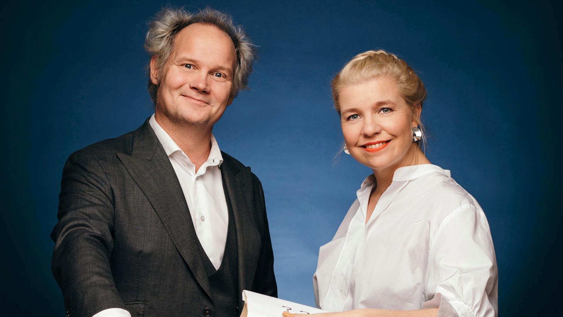 Jani Halme ja Anna Tulusto