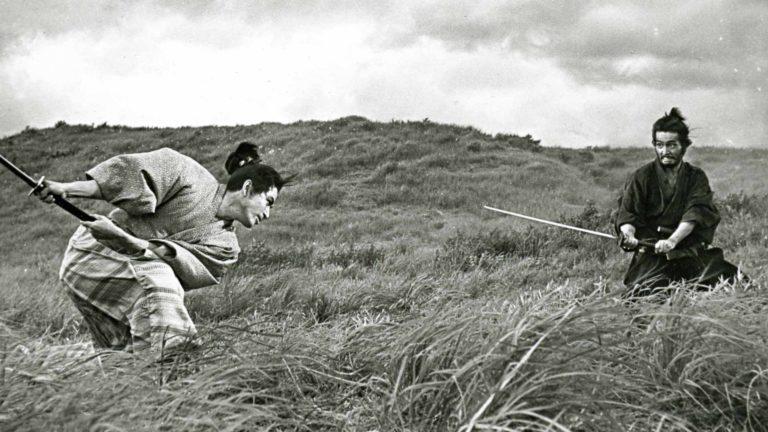 Tatsuya Nakadai (oik.) piti roolia elokuvassaHarakiri omana suosikkityönään. Vasemmalla Tetsurô Tanba.