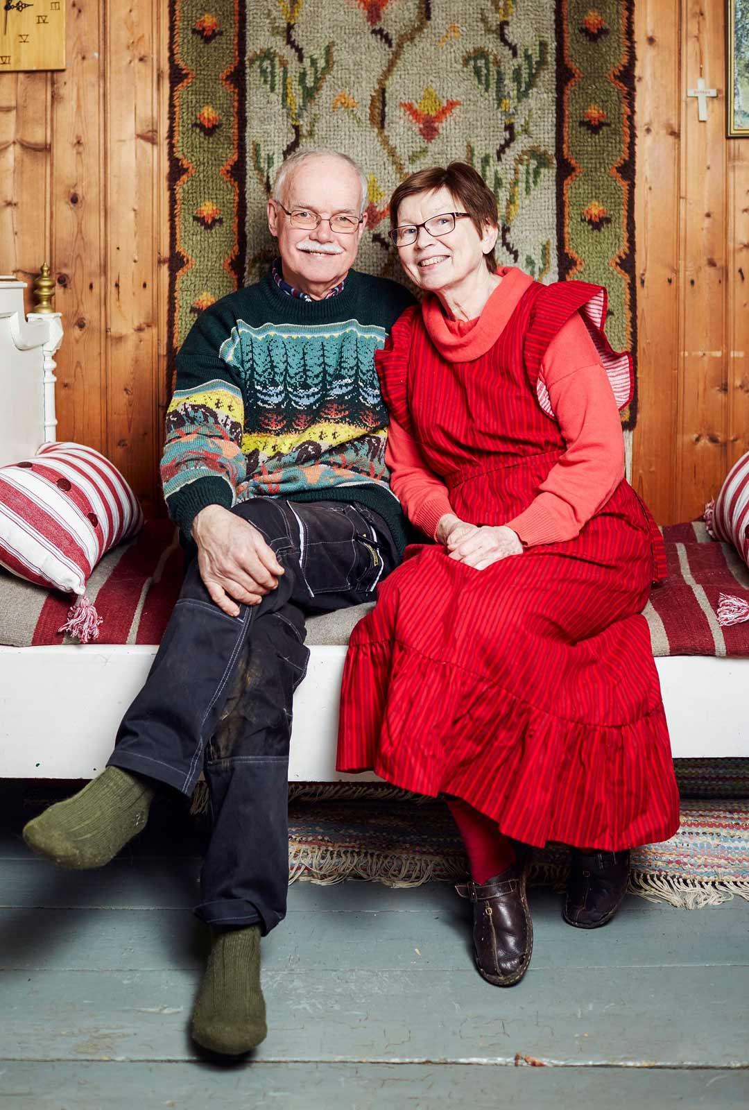 Kaija ja Reijo Telaranta muuttivat eläkkeelle jäätyään pääkaupunkiseudulta maalle Pirkanmaalle ja ovat viihtyneet.