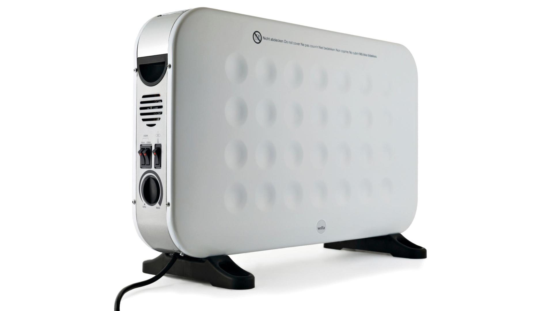 Wilfa Glow Fan HCF-2000W maksaa 60 e.
