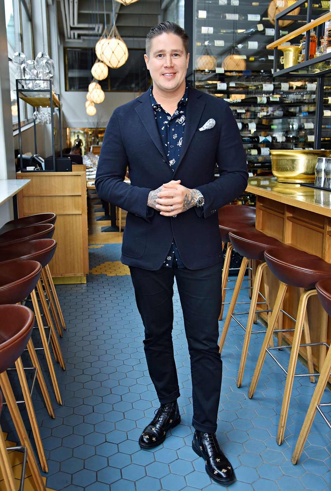 Ravintoloitsija ja huippukokki Tomi Björck.