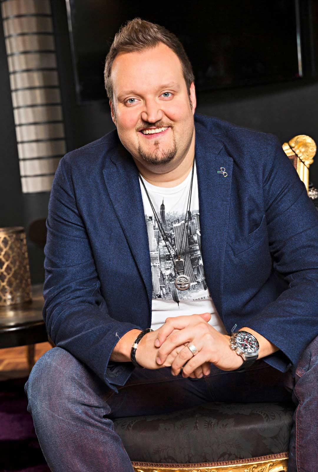 Stand up-koomikko Sami Hedberg