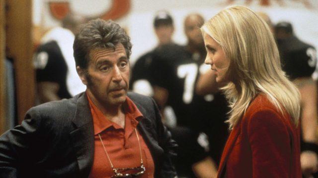 Minä päivänä tahansa, kuvassaAl Pacino jaCameron Diaz.