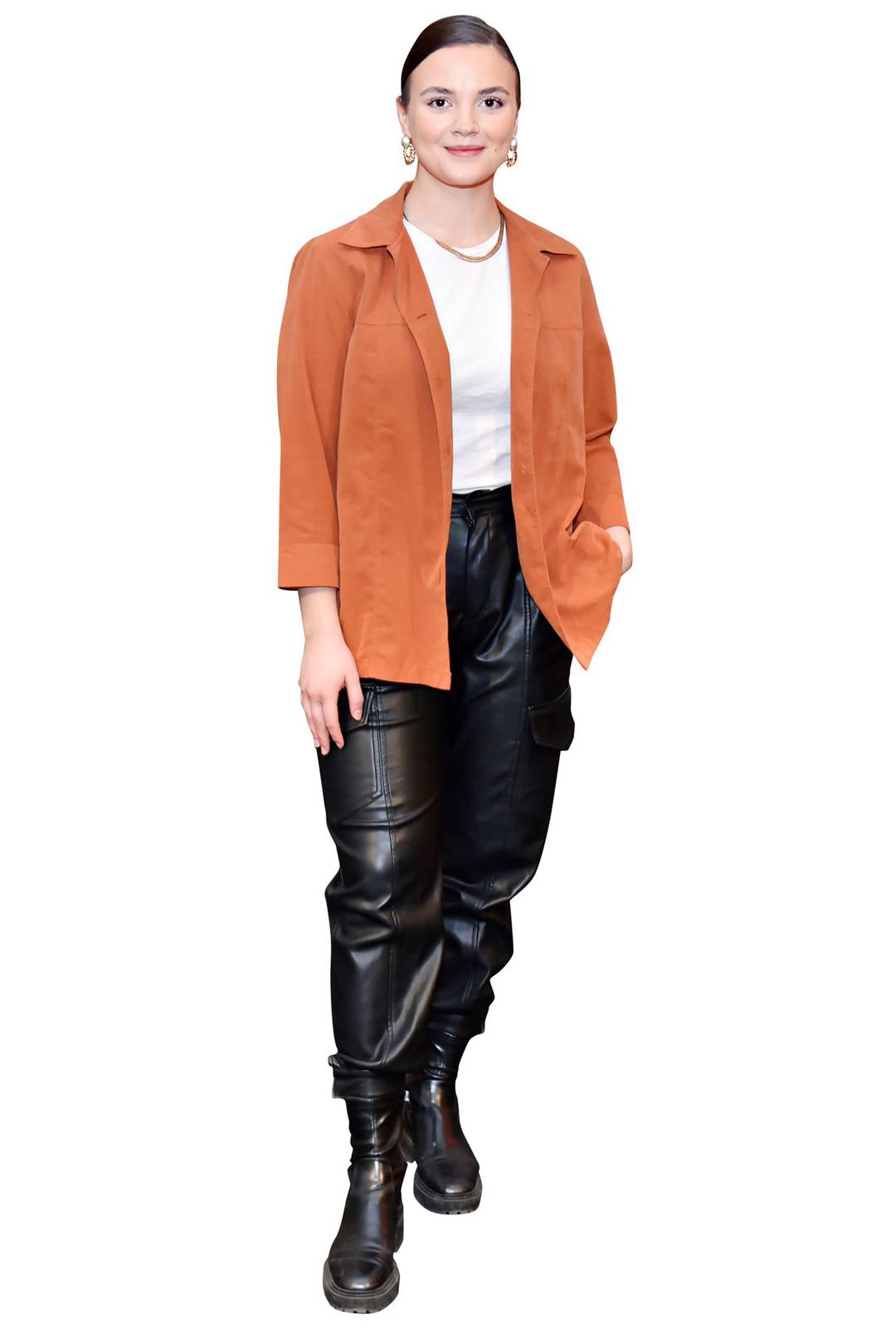 Näyttelijä Linda Manelius.