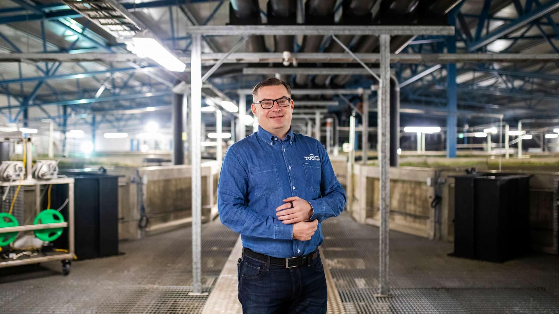 Toimitusjohtaja Janne Reunasen suosikki on Saimaan tuoreen kylmäsavulohi, jonka tuotekehitys on loppusuoralla.