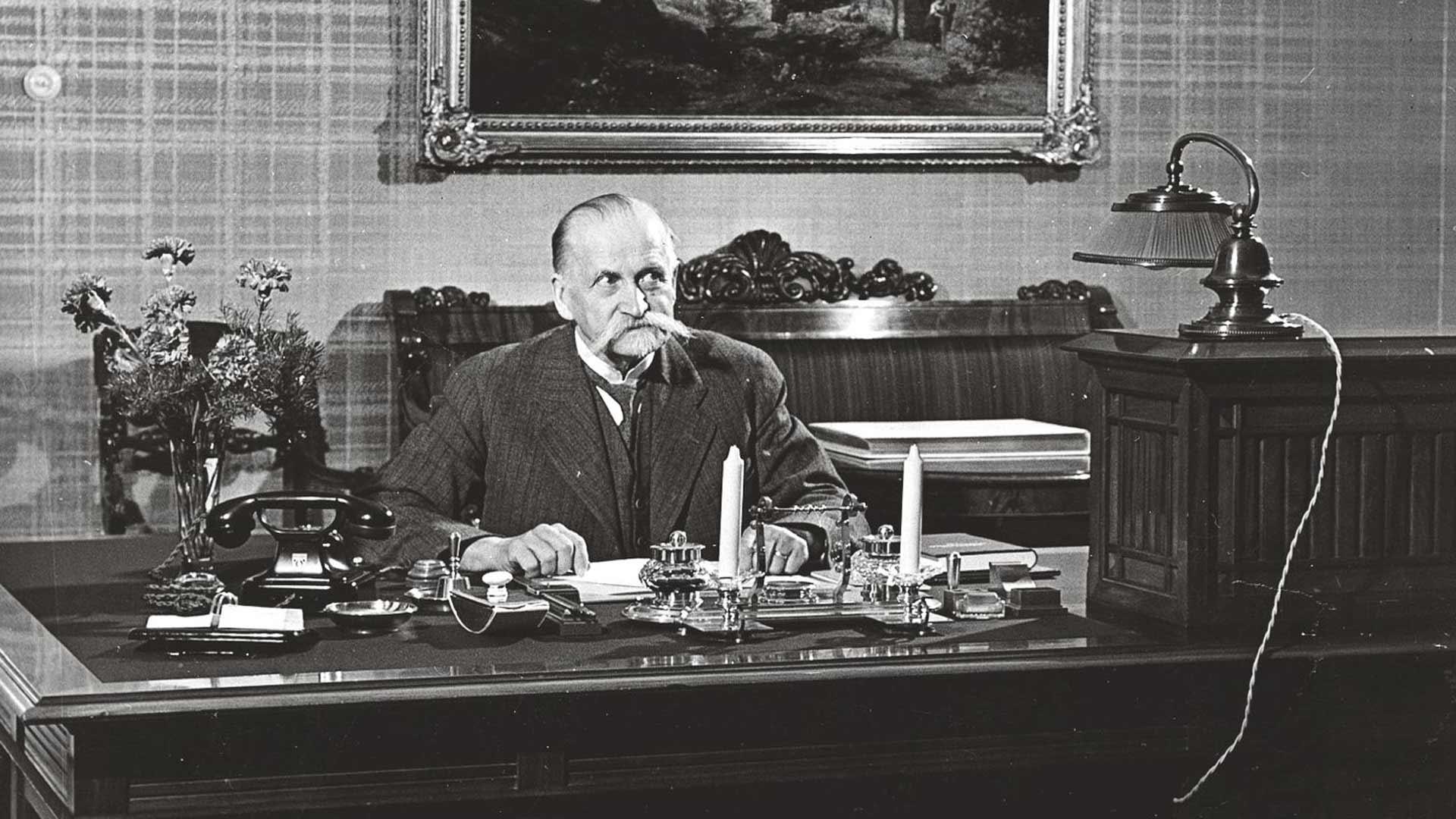 Presidentti Kallio oli uuttera työmyyrä, jonka oli vaikea pysyä poissa työpöytänsä äärestä.