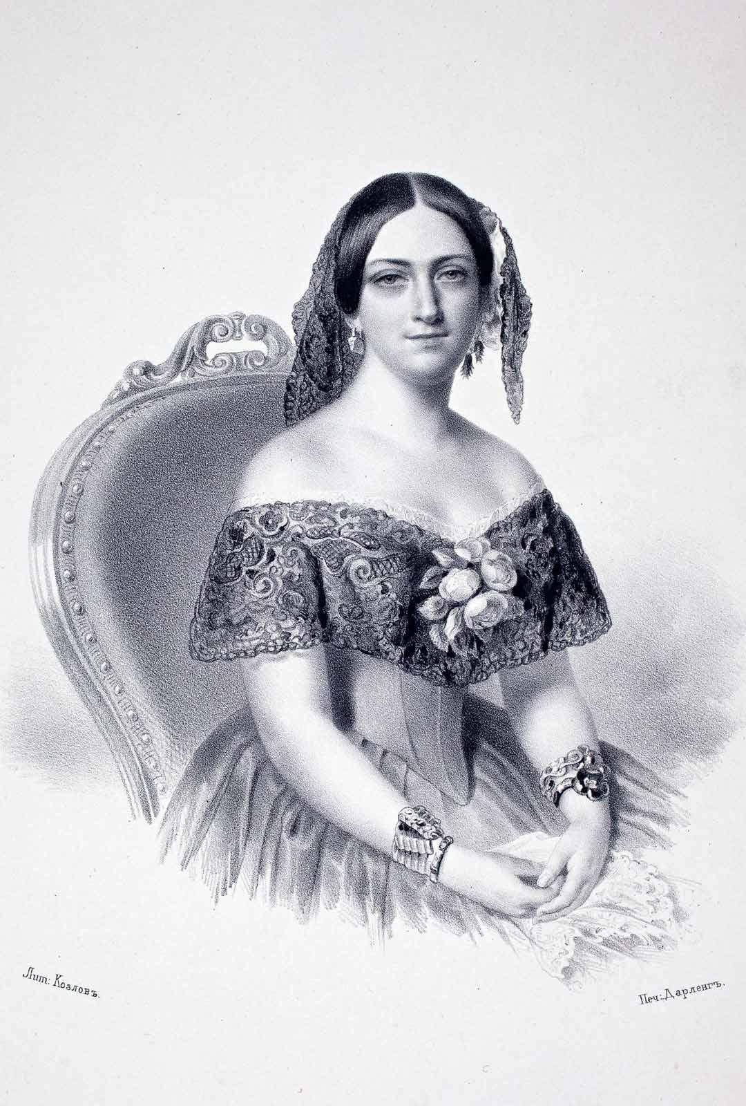 Marie Linderin kasvatuksesta vastasi pitkälti hänen tätinsä Aurora Karamzin, josta muodostui hänelle eräänlainen äitihahmo, vieläpä varsin dominoiva sellainen. Marie vietti pitkiä aikoja elämästään tädilleen kuuluneissa Träskandan kartanossa ja Hakasalmen huvilassa.