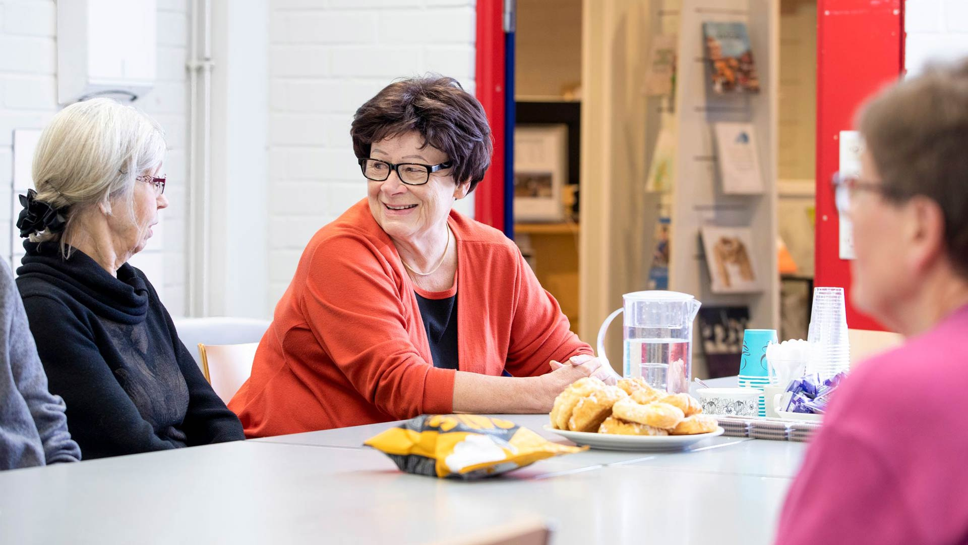 Ulla Ström ryhtyi vapaaehtoiseksi
