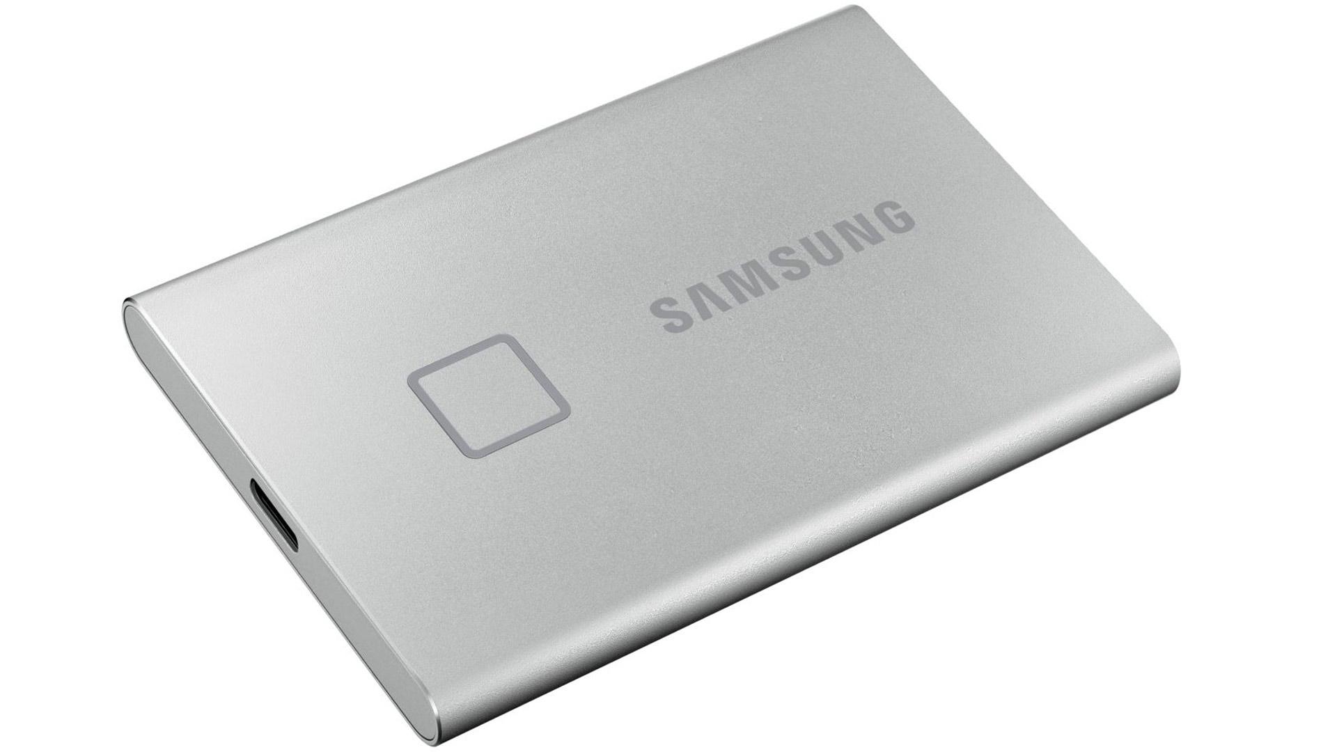 Samsung T7 Touch 1TB -usb-muisti maksaa 270 euroa.