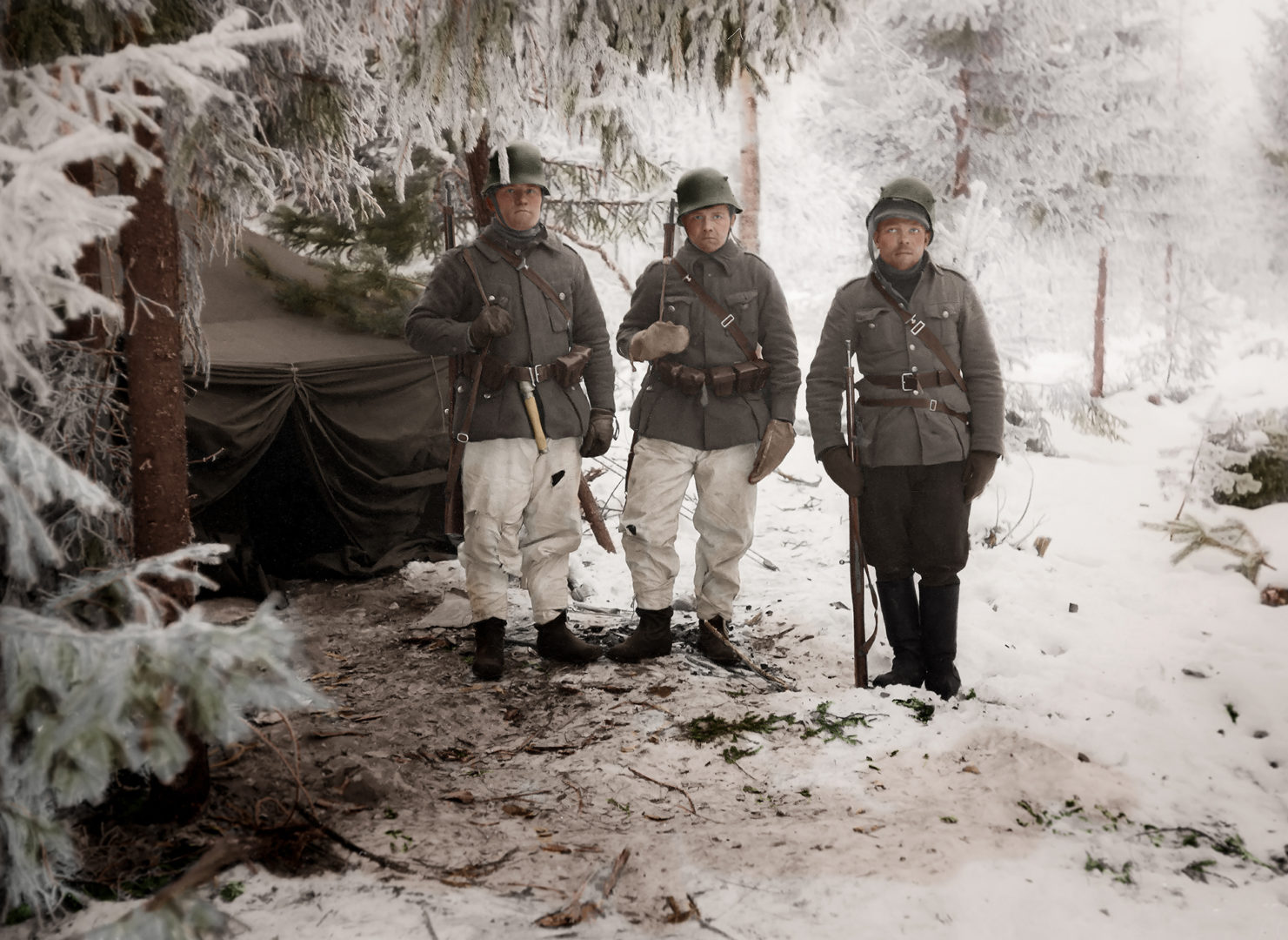 Sota-ajan kuvat