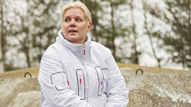 Nina Mellqvist asui vuoden sotilassaari Rankissa.