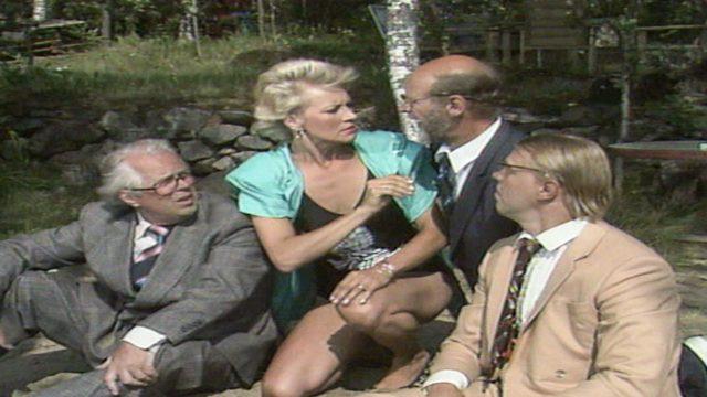 Pikkupojat, kuvassa Simo, Hannele, Spede ja Vesku.