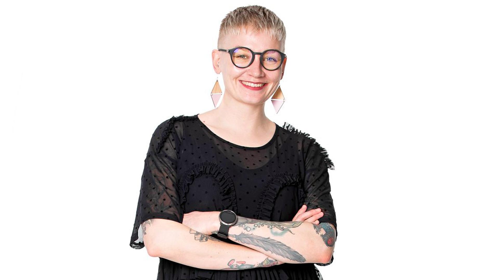 Anni Saastamoinenon kirjailija ja radiotoimittaja.