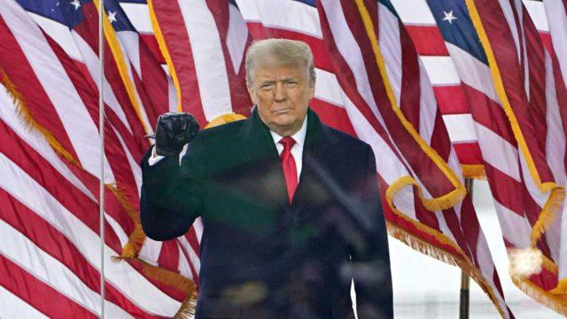 Presidentti Donald Trump