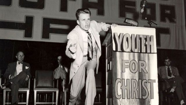Billy Graham – vallan pastori.
