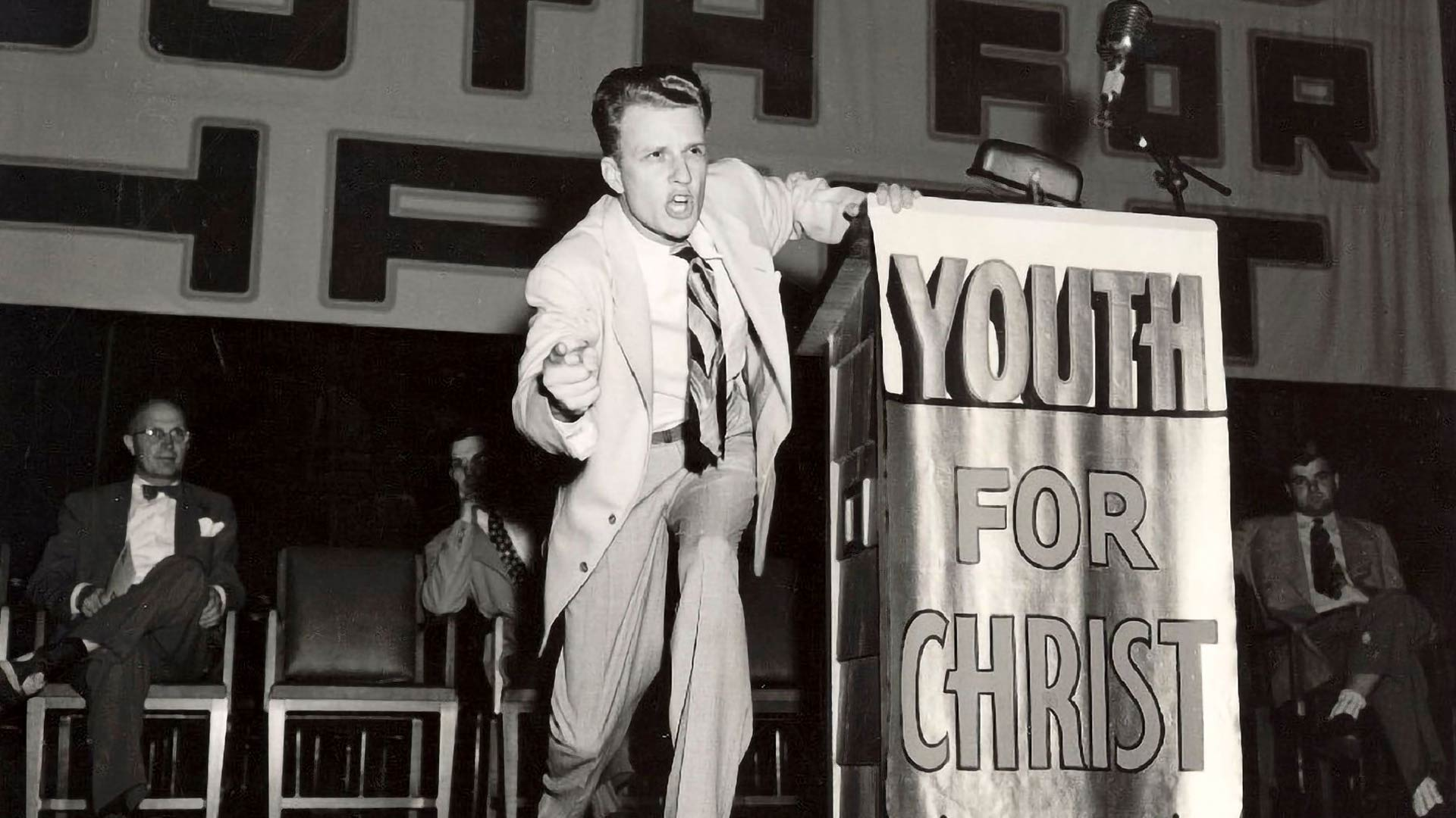Billy Graham – vallan pastori.