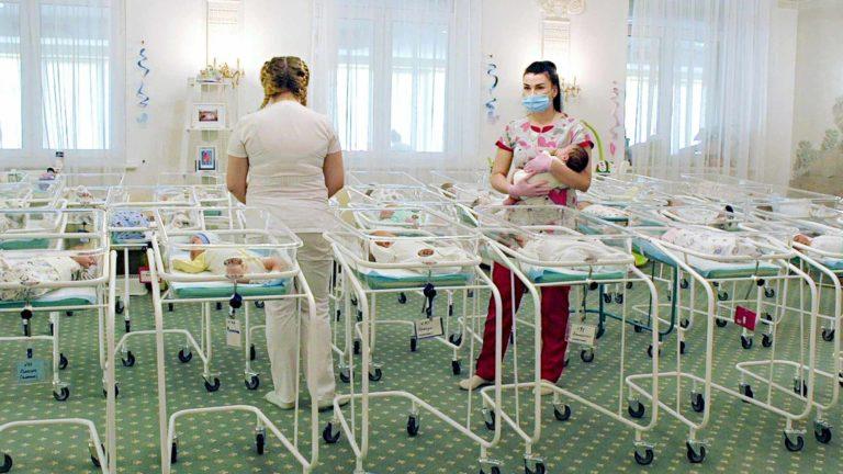 Ulkolinja: Ukrainan vauvatehdas.