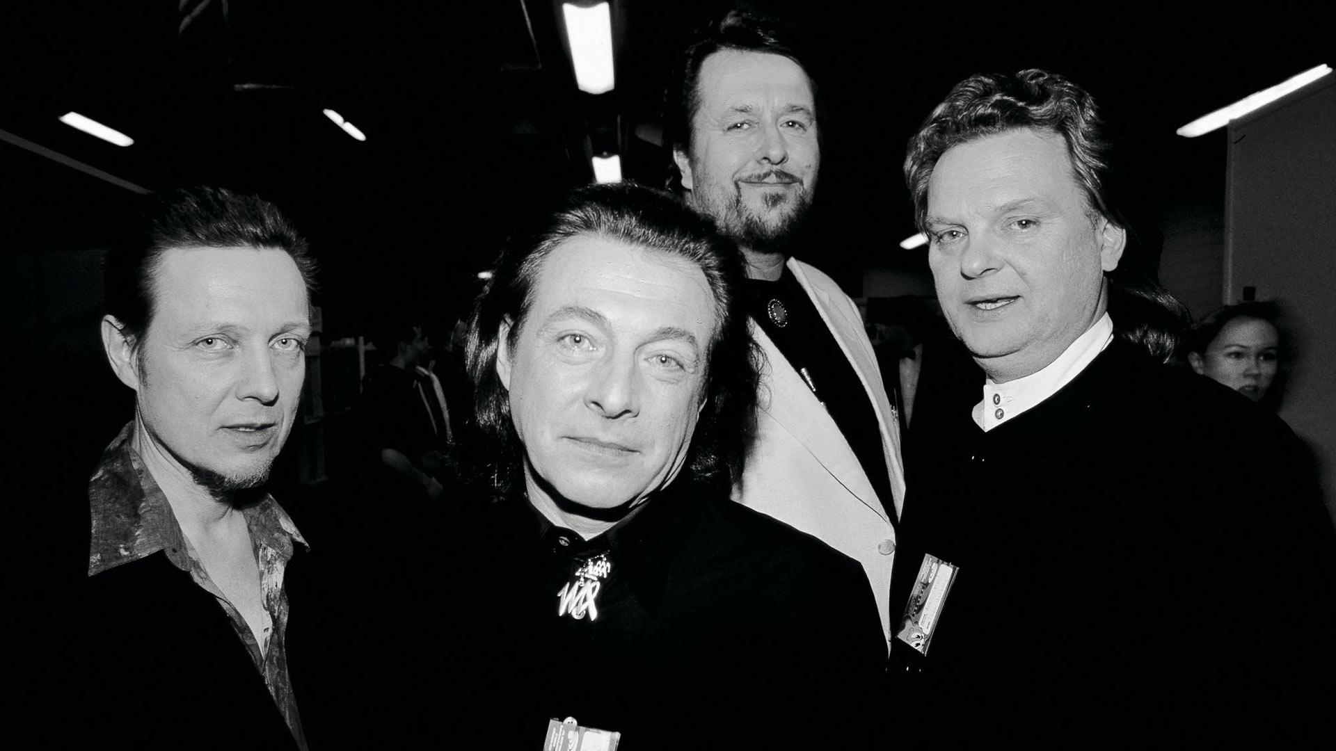 Pave, Kirka Babitzin, Hector eli Heikki Harma ja Pepe Willberg tekivät historiaa Mestarit-kokoonpanollaan.