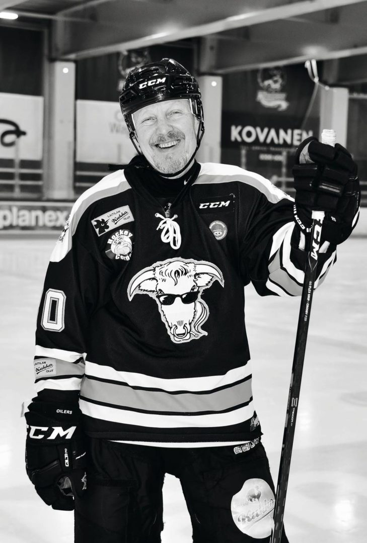 Pave Maijanen harrasti jääkiekkoa