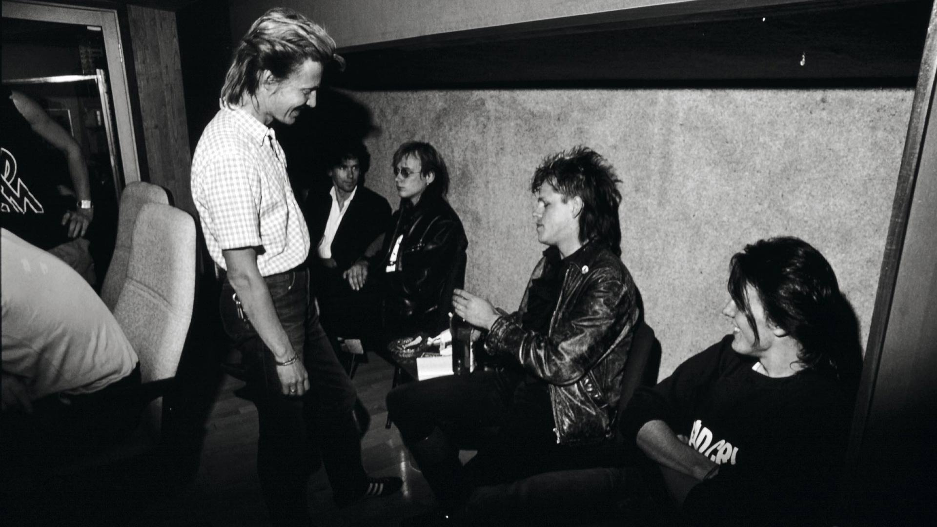 Dingo levytysmatkalla Dublinissa Irlannissa lokakuussa 1985.