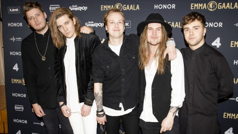 Blind Channel oli ehdolla Emma-gaalassa 2018 Vuoden rock -kategoriassa.