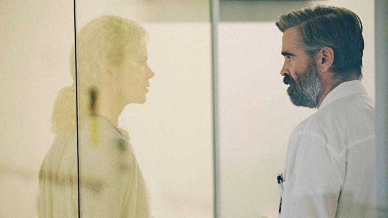 Nicole Kidmanin ja Colin Farrellin tulkitsema aviopari ajautuu omituiseen kauhun tilaan Yorgos Lanthimosin erikoisessa jännityselokuvassa The Killing of a Sacred Deer.
