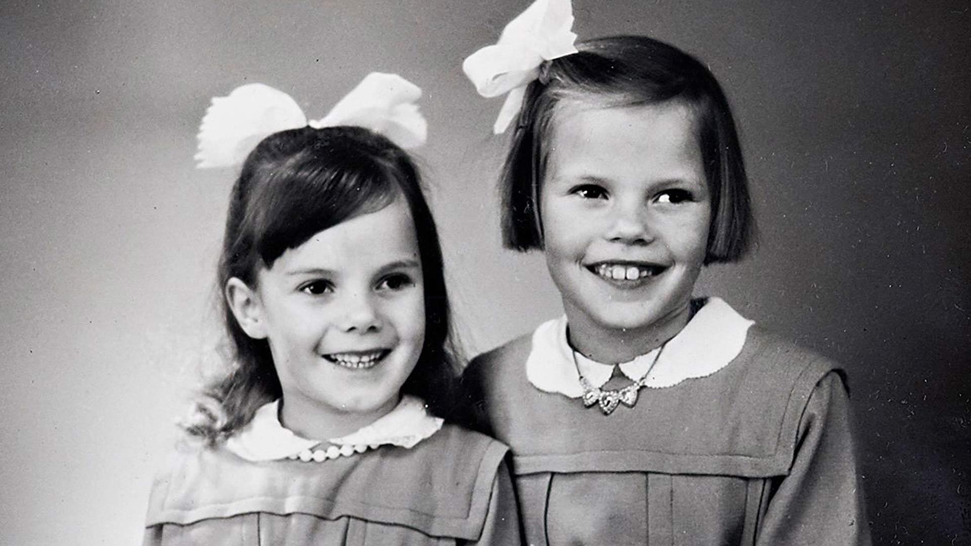 """Marianne ja Britta kuvassa, joka on otettu vähän ennen isän kuolemaa. """"Britan viimeisinä aikoina muistelimme paljon lapsuutta."""""""