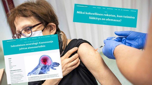 Huuhaasivustot siteeraavat usein tuntemattomia ulkomaisia lääkäreitä mieleisellään tavalla. Myös erilaisten mysteerirohtojen väitetään tepsivän koronaan rokotetta paremmin.