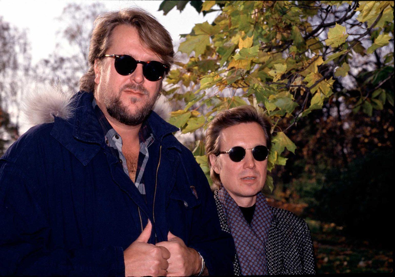 """Heikki """"Hector"""" Harma ja Pave Maijanen kiersivät Suomea vuonna 1992 Mestarit-kokoonpanon riveissä."""