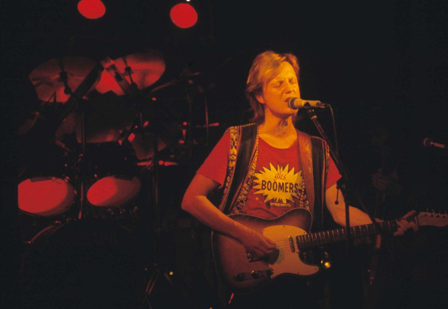 Pave Maijanen keikalla 1985, jolloin kaksi timanttilevyyn oikeuttanutta sooloalbumia olivat juuri ilmestyneet.