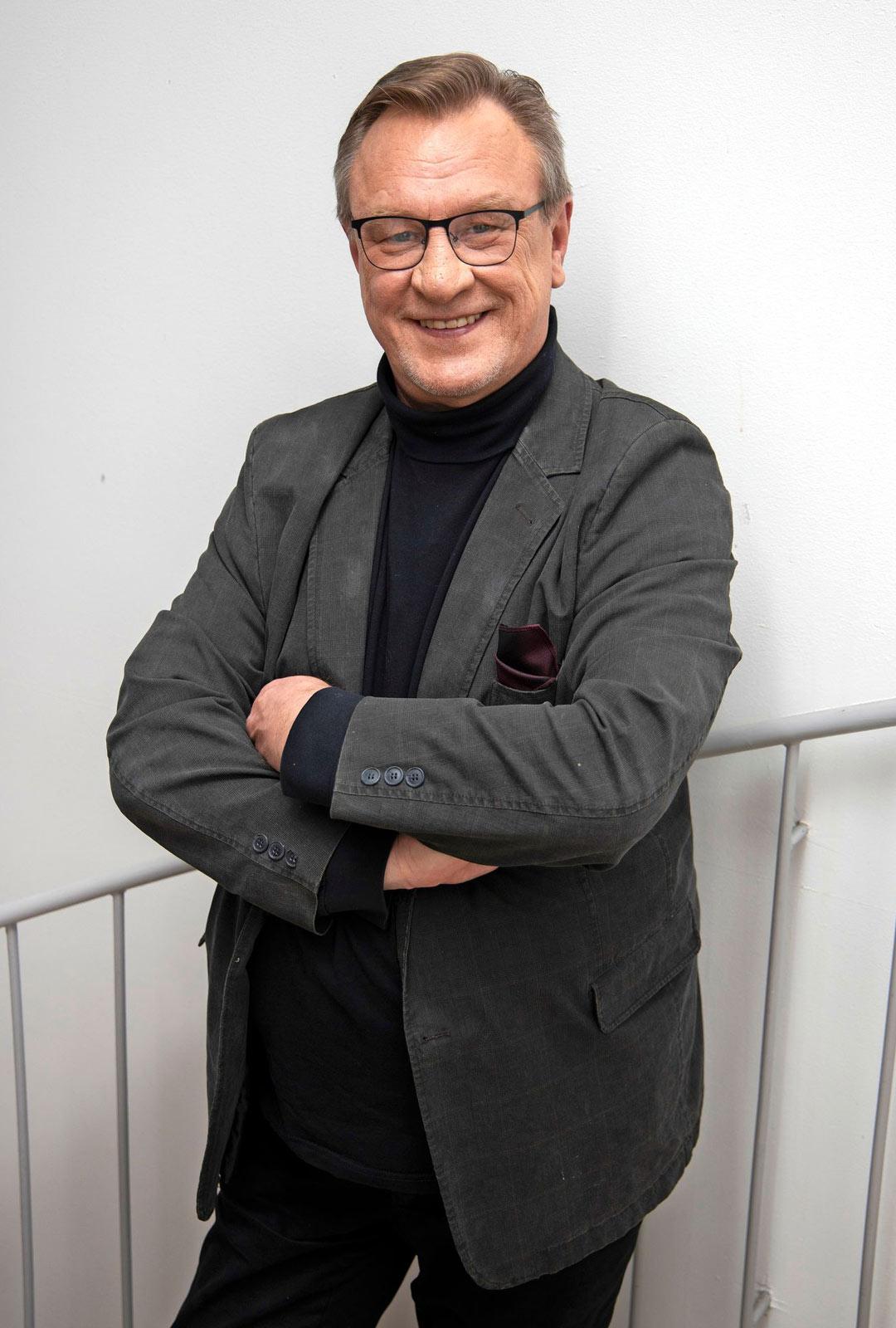 Näyttelijä Esko Kovero.