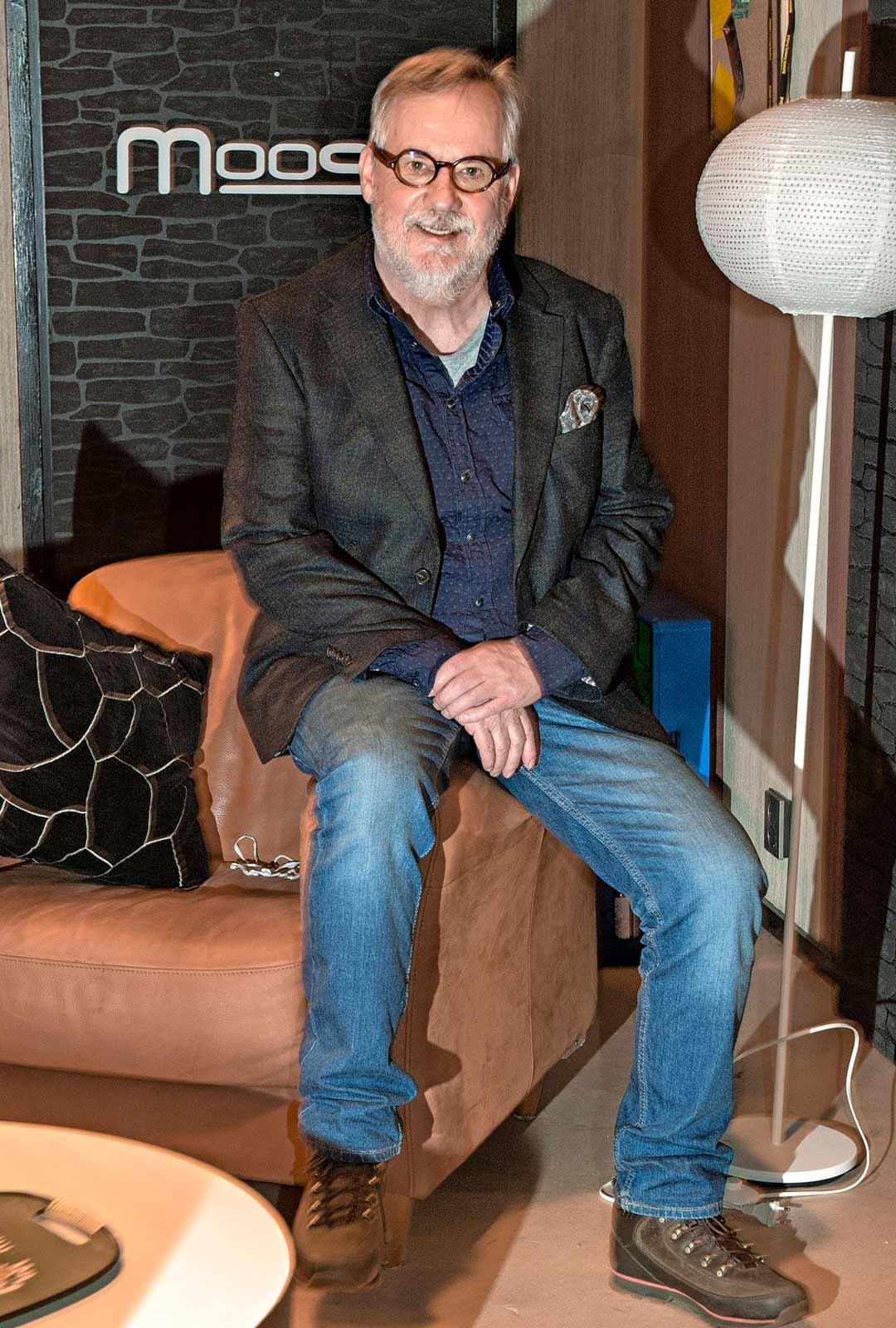 Näyttelijä Raimo Grönberg.