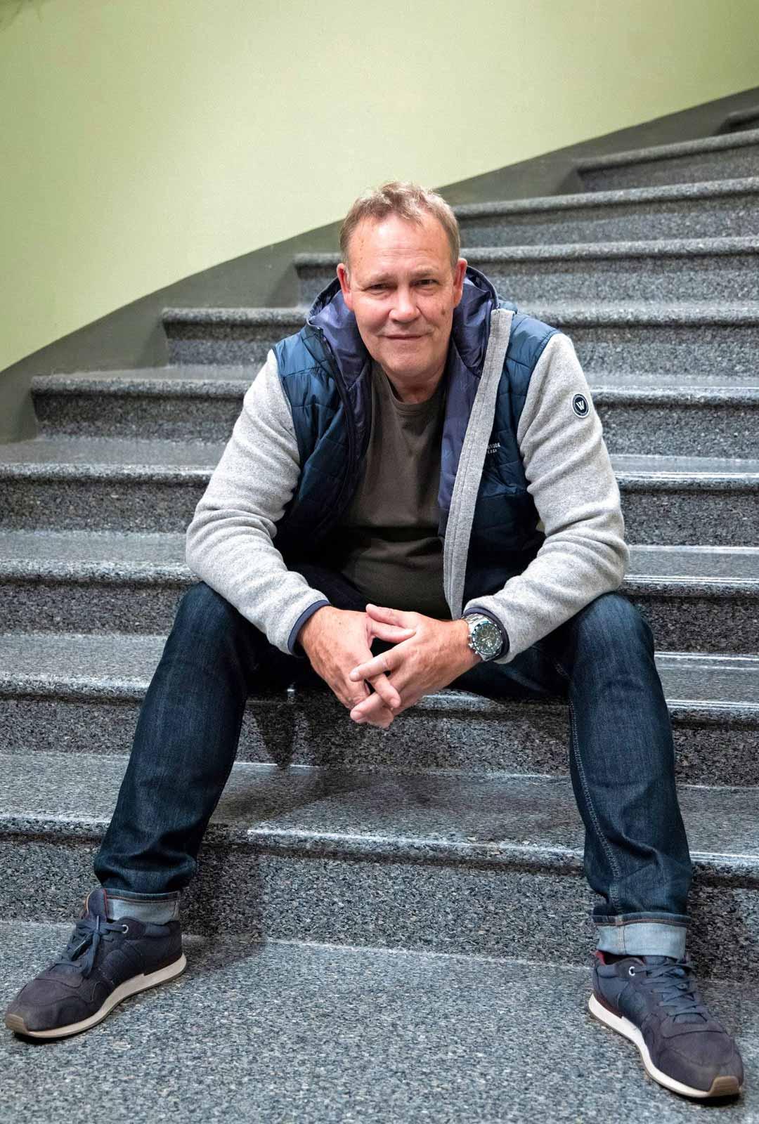 Näyttelijä Timo Jurkka.
