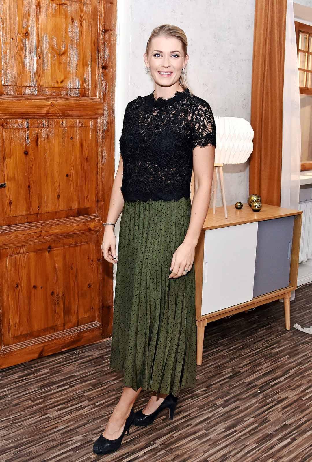 Näyttelijä Monika Lindeman.