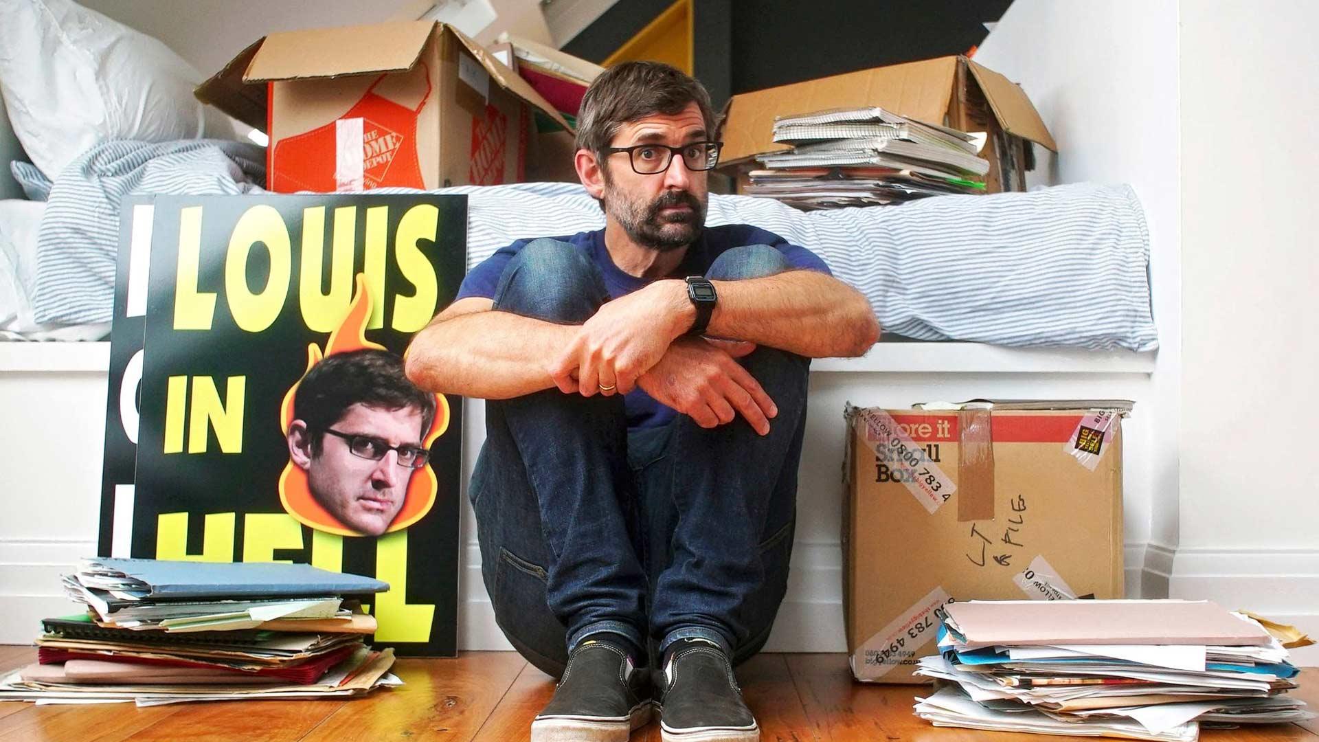 Theroux: Elämää reunalla, kuvassajournalisti Louis Theroux.
