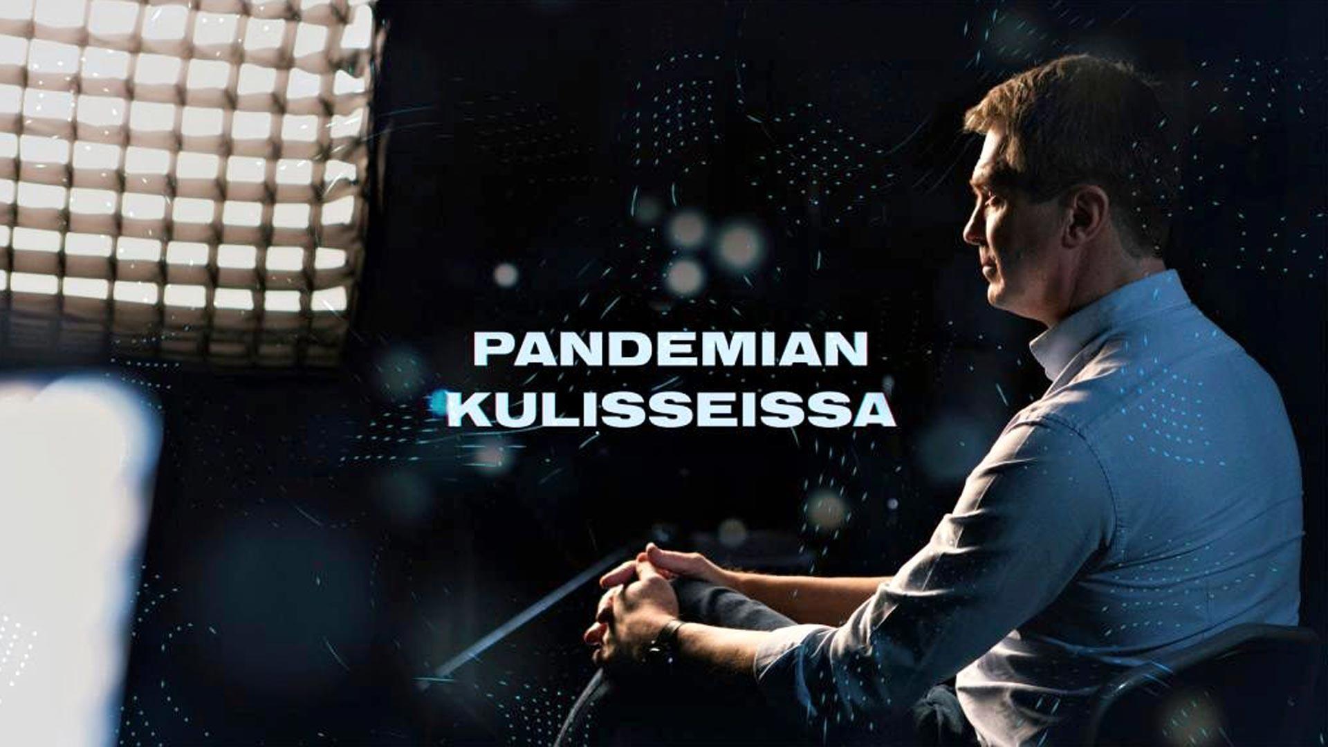 Pandemian kulisseissa, kuvassaPeter Nyman