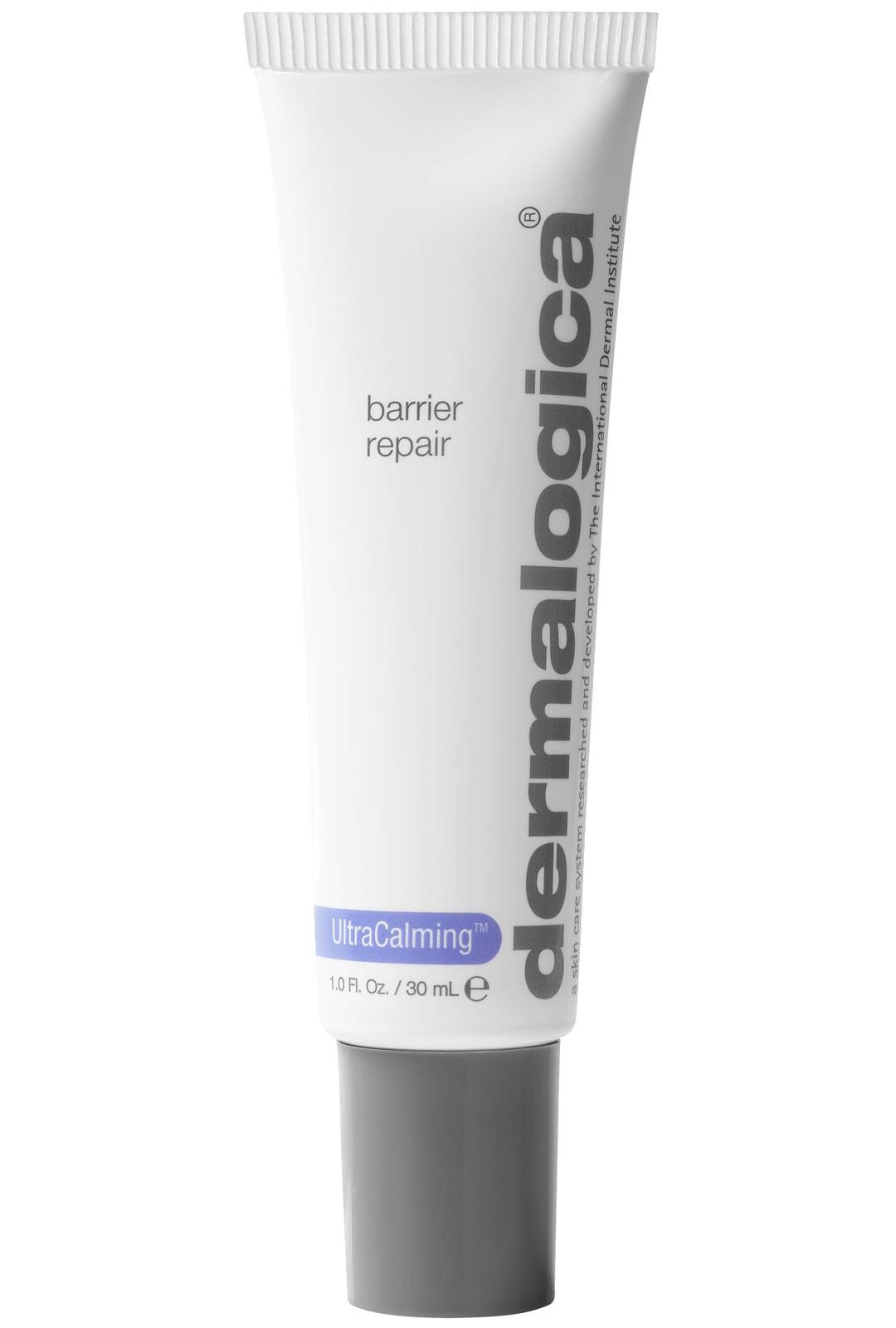 Vedetön kosteusvoide on turvallinen valinta viimaan. Dermalogica UltraCalming Barrier Repair, 46,90 €/30 ml.