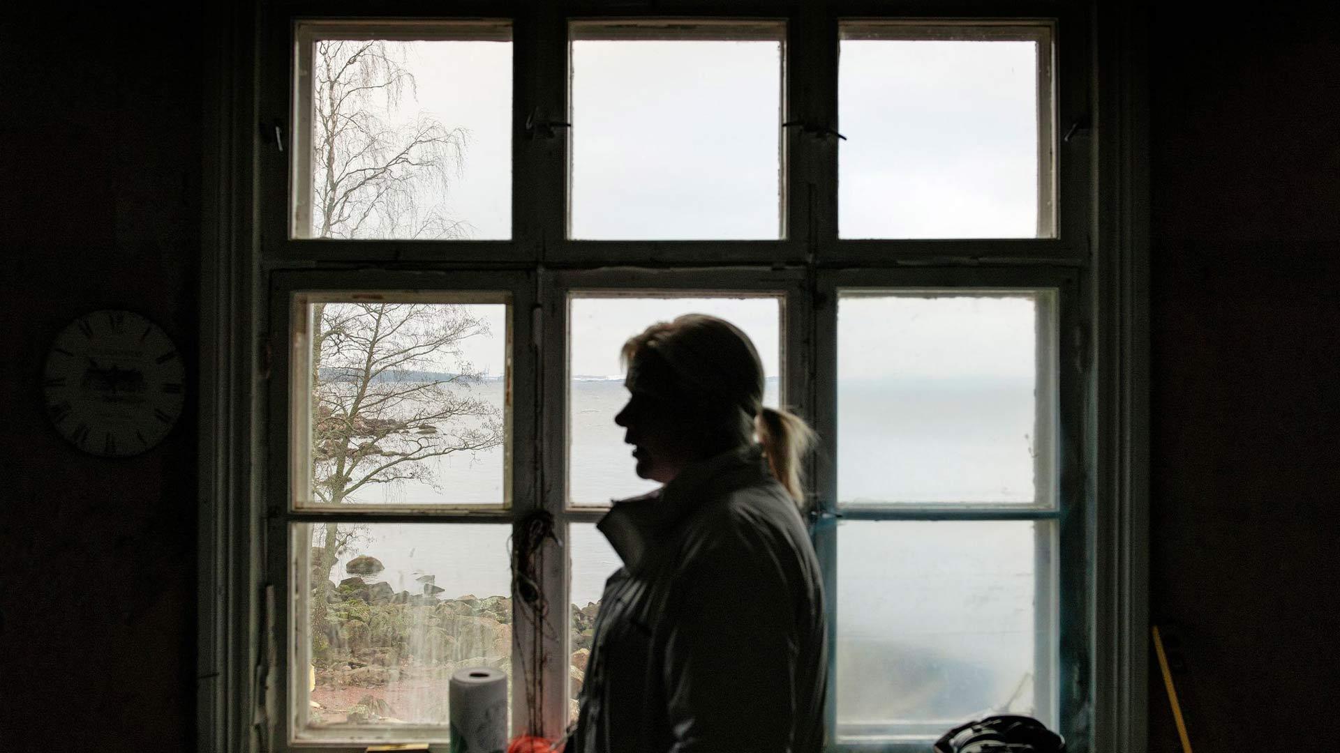 """""""Rankissa saan olla oma itseni ilman, että kukaan pääsee vaikuttamaan tekemisiini tai ajatuksiini"""", Nina Mellqvist toteaa."""