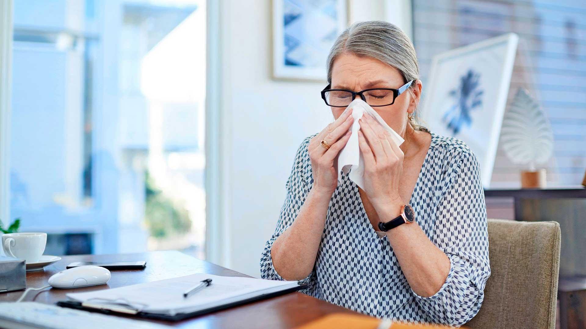 poskiontelotulehdus seuraa usein flunssaa