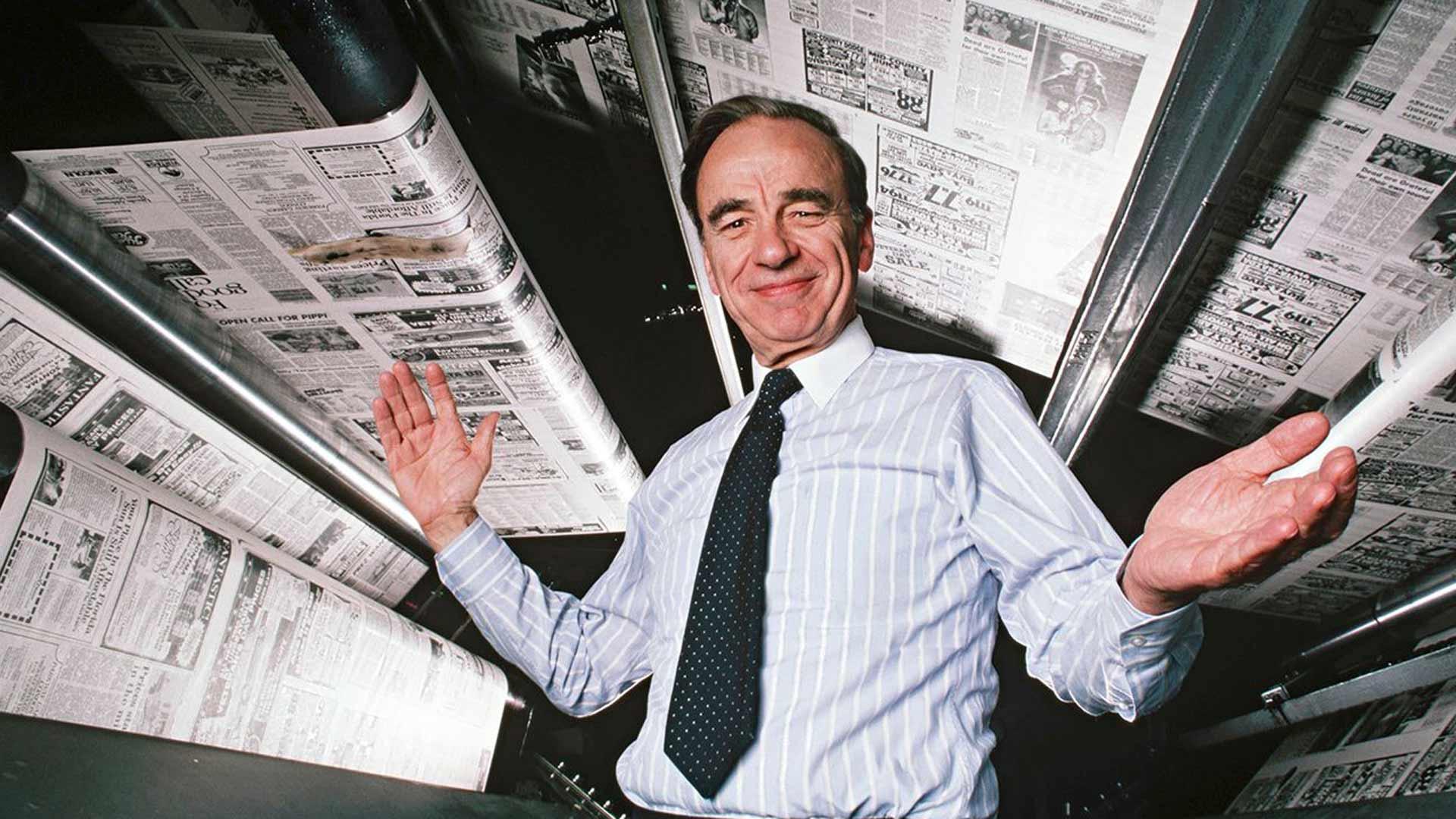 Murdoch: mediadynastia vallan ytimessä, kuvassaRupert Murdoch.