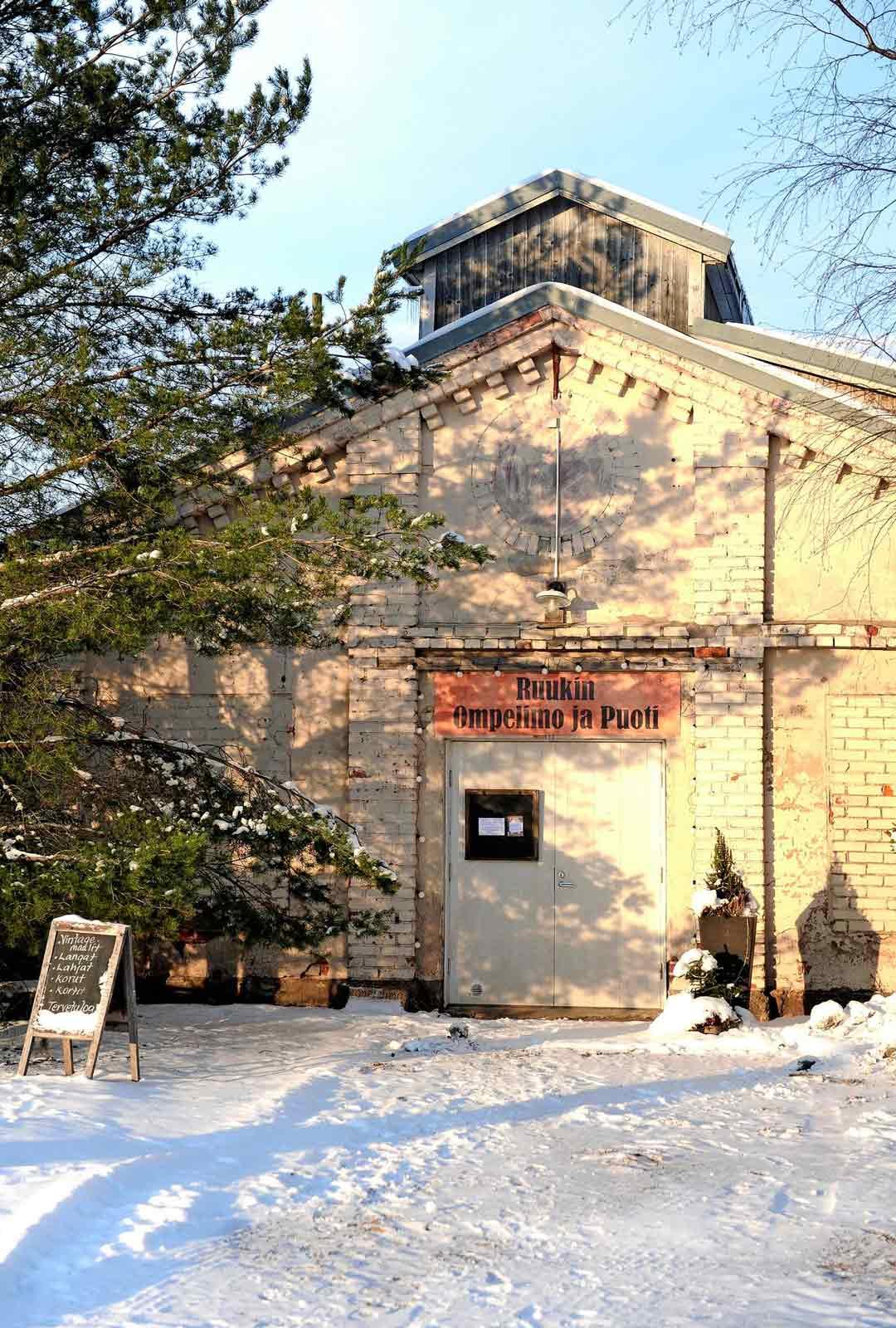 Kellokosken tehdasalueen vanhat rakennukset
