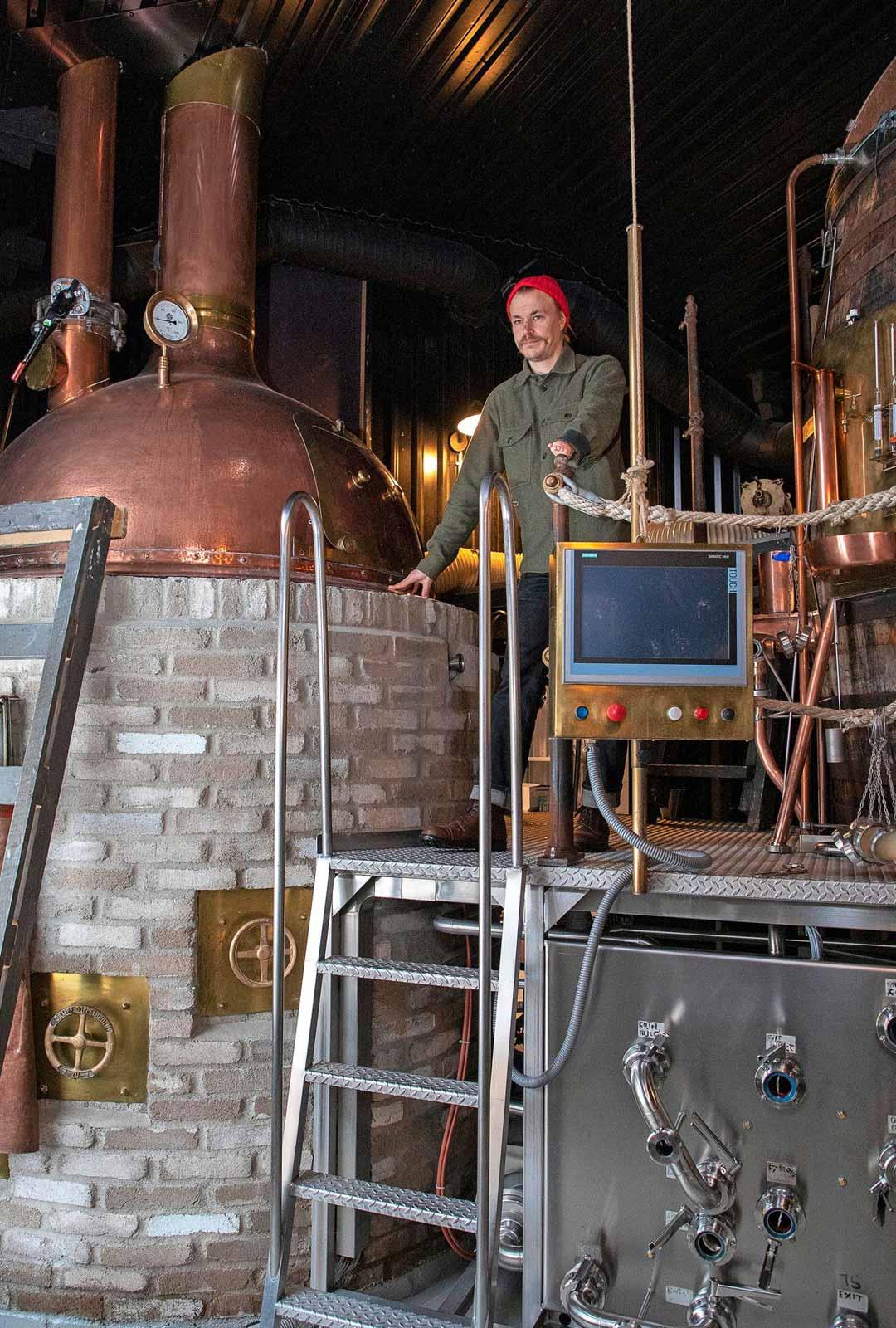 """Kaukonen haluaa tehdä jatkossakin klassista, mutta rentoa olutta. """"Erotumme persoonalla, emme luo koko ajan uutta, vaan luotamme perinteiseen saksalaistyyliseen olueen."""""""