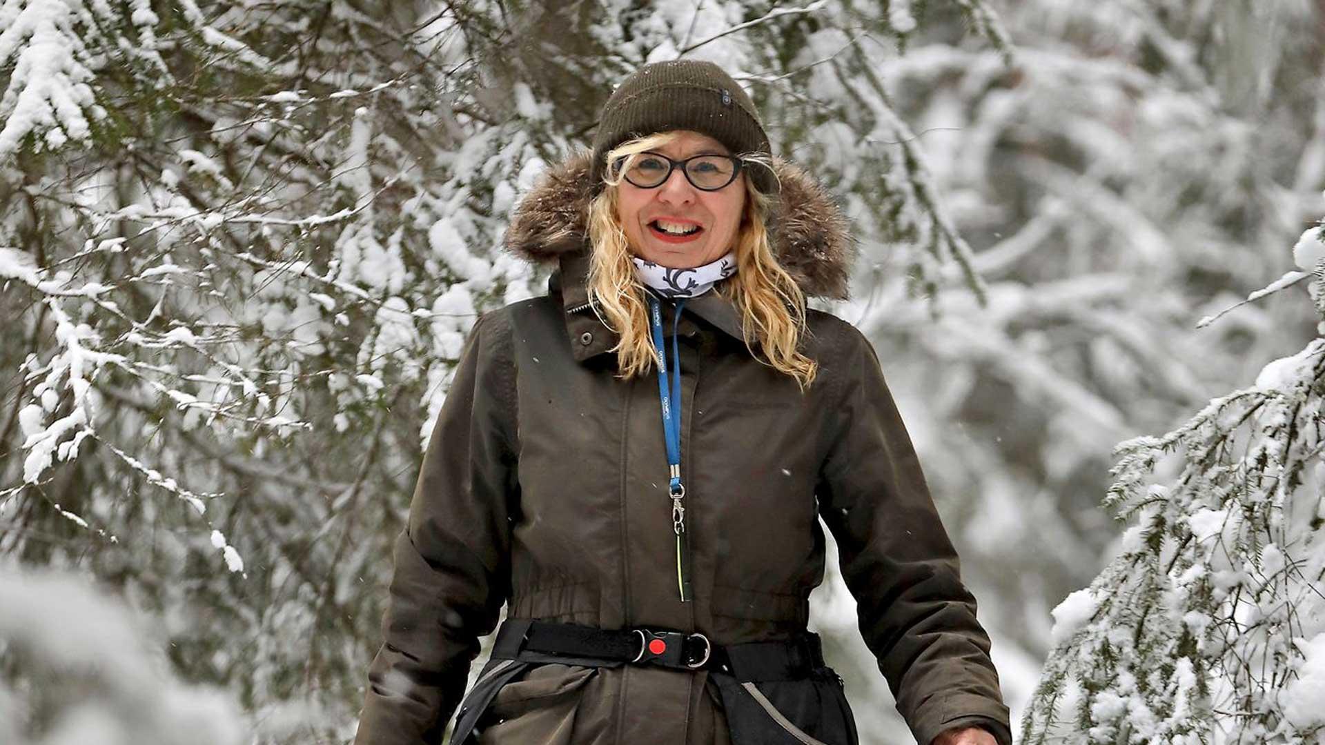 Jaana Korkiamäki-Villanen, Green Care -asiantuntija, eläkkeellä oleva sairaanhoitaja, luonto- ja eräopas.