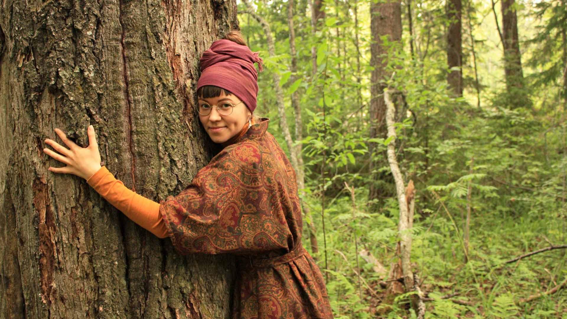 """""""Toivon, että jokainen miettisi, mitä voisi tehdä luonnon hyväksi"""", psykologian opiskelija Juni Sinkkonen sanoo."""