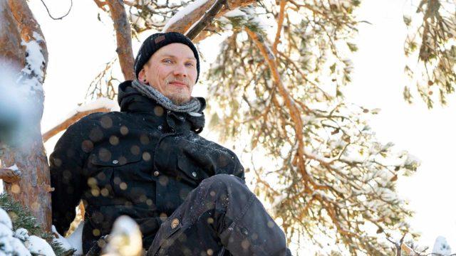 Ville Laitinen, luontoyrittäjä.