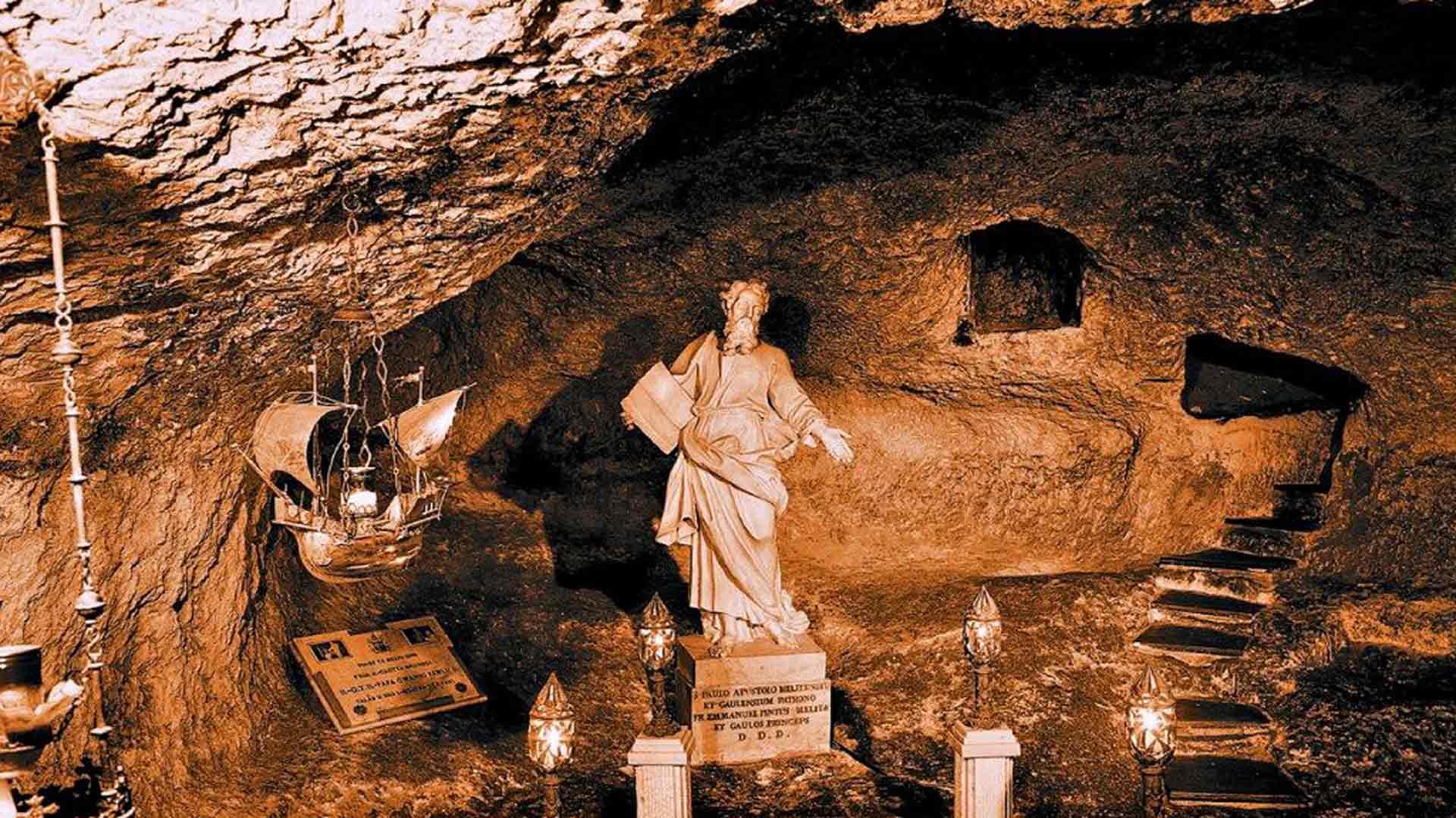Pyhän Paavalin luola.