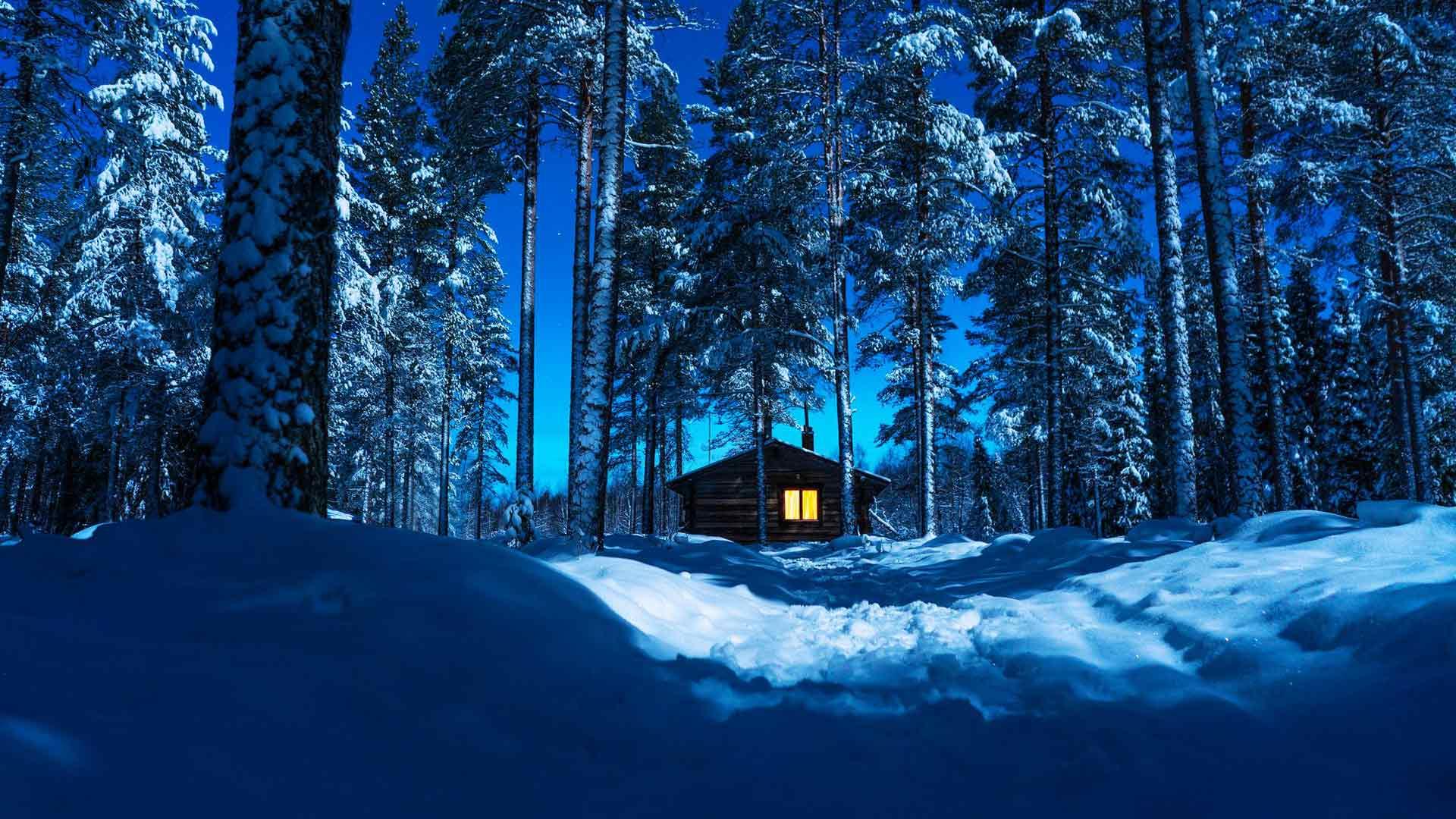 """Ainoa ei pelota nukkua erämaan keskellä. """"Opin jo lapsena, että pimeä metsä on maailman turvallisin paikka."""""""