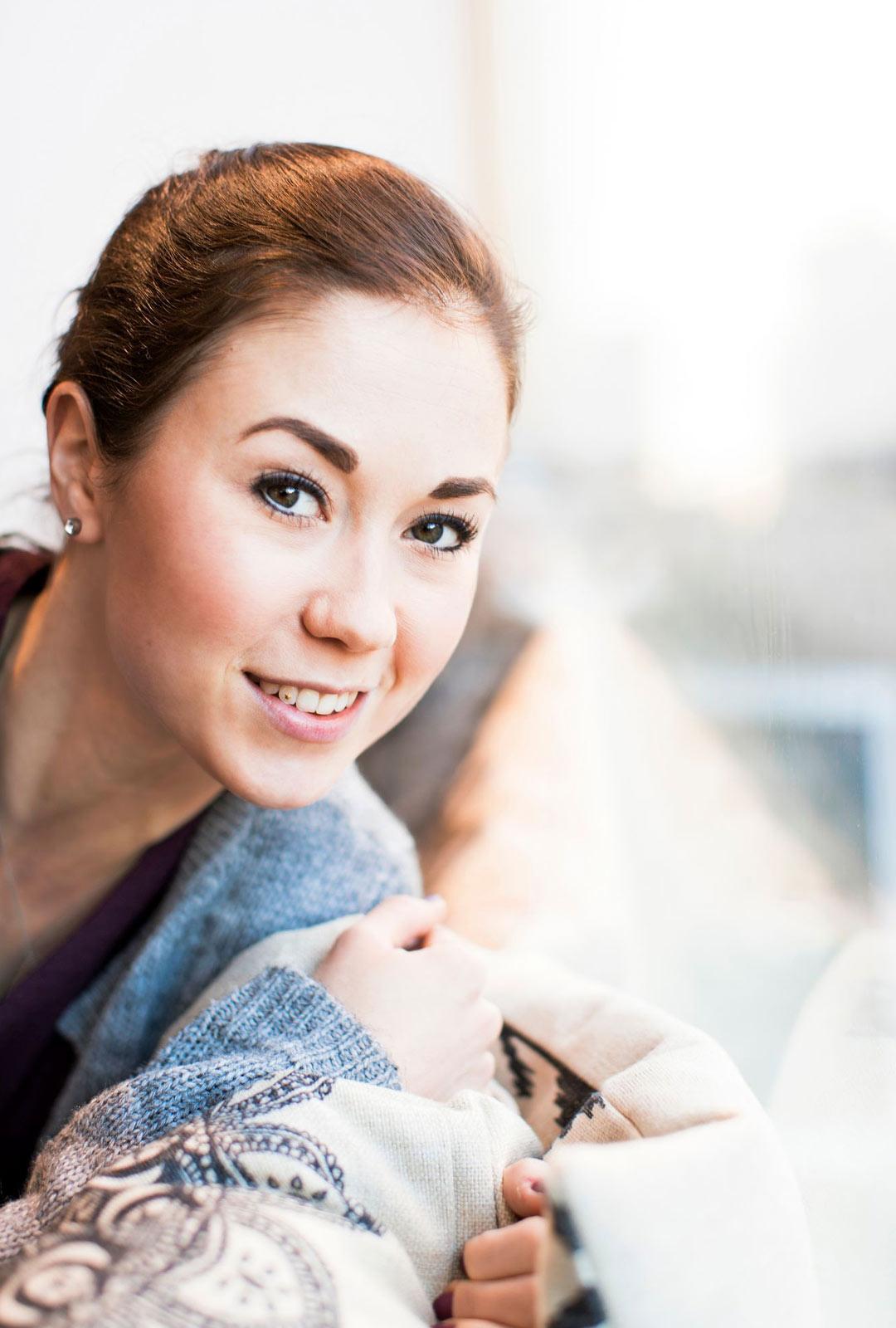 Luistelija Laura Lepistö on Kiira Korven entinen kilpakumppani.