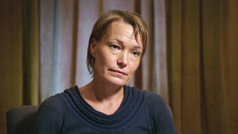 Rokotevastaisuuden soturit, kuvassaLinda Karlström.