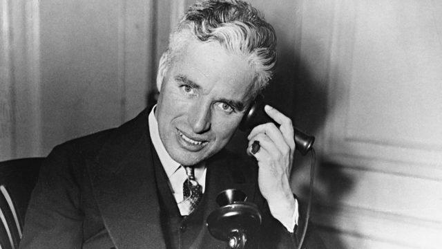 Chaplin vastaan FBI,Charles Chaplin.